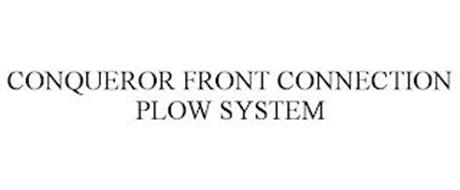 CONQUEROR FRONT CONNECTION PLOW SYSTEM