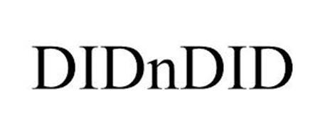DIDNDID