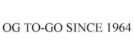 OG TO-GO SINCE 1964