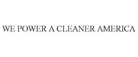 WE POWER A CLEANER AMERICA