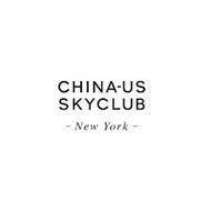 CHINA-US SKYCLUB - NEW YORK -