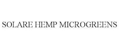 SOLARE HEMP MICROGREENS