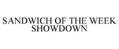 SANDWICH OF THE WEEK SHOWDOWN