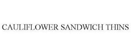 CAULIFLOWER SANDWICH THINS
