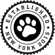ESTABLISHED NEW YORK 2015