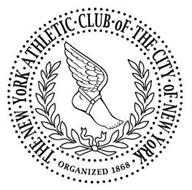 THE · NEW · YORK · ATHLETIC · CLUB · OF · THE · CITY · OF · NEW · YORK · ORGANIZED 1868