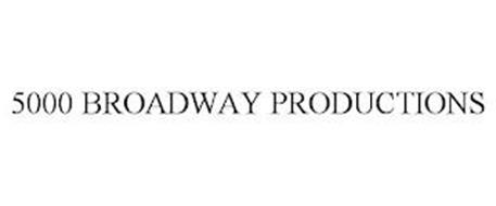 5000 BROADWAY PRODUCTIONS