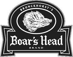 BRUNCKHORST'S BOAR'S HEAD BRAND