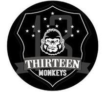 THIRTEEN MONKEYS 13