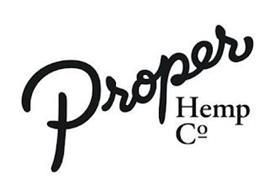 PROPER HEMP CO