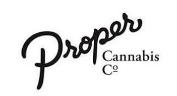 PROPER CANNABIS CO