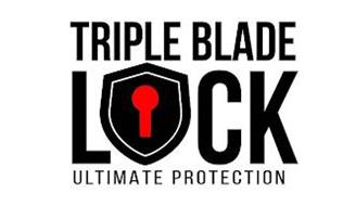 TRIPLE BLADE LOCK ULTIMATE PROTECTION