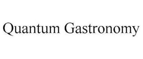 QUANTUM GASTRONOMY