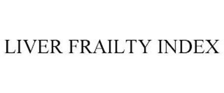 LIVER FRAILTY INDEX