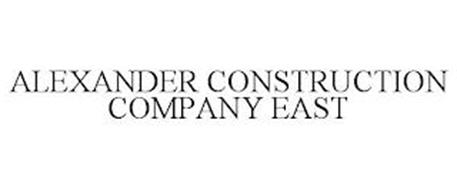 ALEXANDER CONSTRUCTION COMPANY EAST