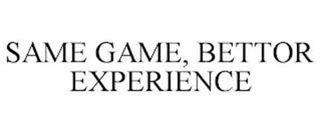 SAME GAME, BETTOR EXPERIENCE