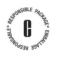 RESPONSIBLE PACKAGE C EMBALLAGE RESPONSABLE