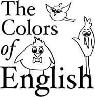 THE COLORS OF ENGLISH