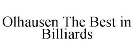 OLHAUSEN THE BEST IN BILLIARDS