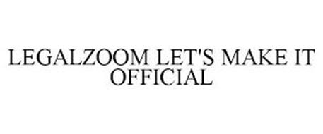 LEGALZOOM LET'S MAKE IT OFFICIAL