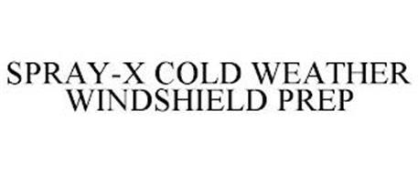 SPRAY-X COLD WEATHER WINDSHIELD PREP