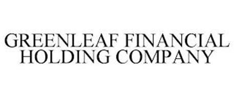 GREENLEAF FINANCIAL HOLDING COMPANY