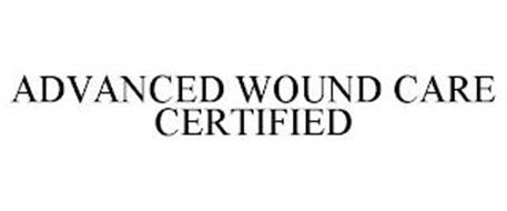 ADVANCED WOUND CARE CERTIFIED