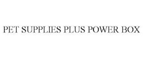 PET SUPPLIES PLUS POWER BOX