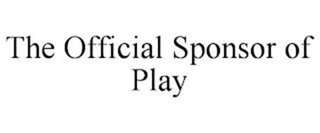 THE OFFICIAL SPONSOR OF PLAY