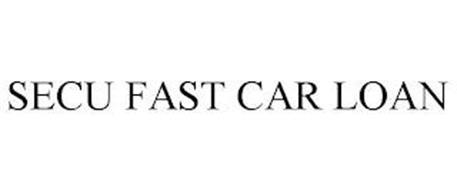 SECU FAST CAR LOAN
