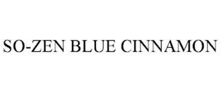 SO-ZEN BLUE CINNAMON