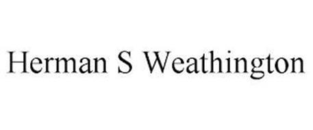 HERMAN S WEATHINGTON