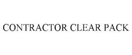CONTRACTOR CLEAR PACK