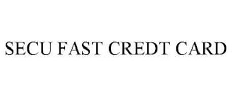 SECU FAST CREDT CARD