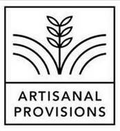 ARTISANAL PROVISIONS