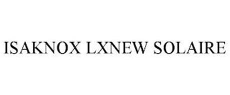 ISAKNOX LXNEW SOLAIRE