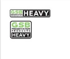 GSB-HEAVY GSB PRESERVATION PRODUCTS HEAVY