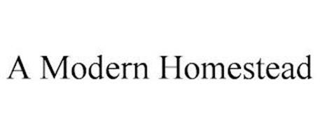 A MODERN HOMESTEAD