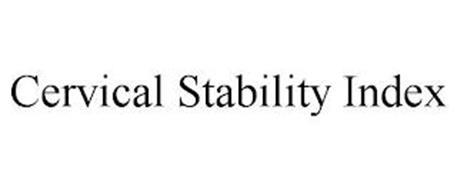 CERVICAL STABILITY INDEX