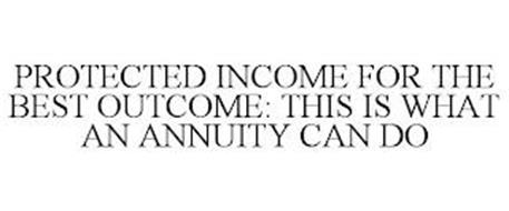 PROTECTED INCOME FOR THE BEST OUTCOME: THIS IS WHAT AN ANNUITY CAN DO