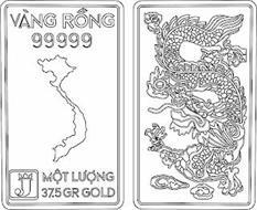 VANG RONG 99999 J MOT LUONG 37.5 GR GOLD