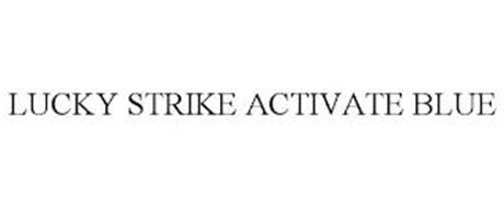 LUCKY STRIKE ACTIVATE BLUE