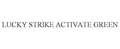 LUCKY STRIKE ACTIVATE GREEN