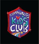 COMMUNITY KIDS CLUB