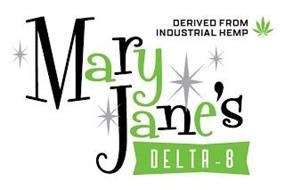 DERIVED FROM INDUSTRIAL HEMP MARY JANE'S DELTA-8