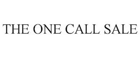 THE ONE CALL SALE