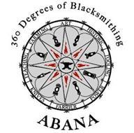 ABANA 360 DEGREES OF BLACKSMITHING FARMING ART HISTORIC TOOLING POWER FARRIER KNIVES TEACHING