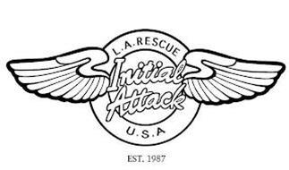 L.A. RESCUE U.S.A. INITIAL ATTACK EST. 1987