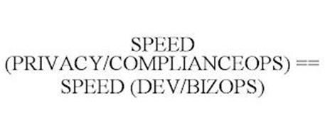 SPEED (PRIVACY/COMPLIANCEOPS) == SPEED (DEV/BIZOPS)