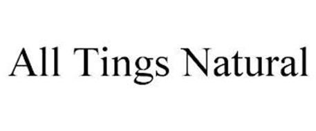 ALL TINGS NATURAL
